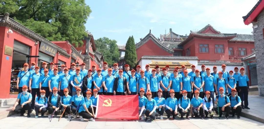 集团党委开展庆祝建党100周年党员考察学习活动