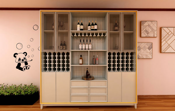 All aluminum wine cabinet series