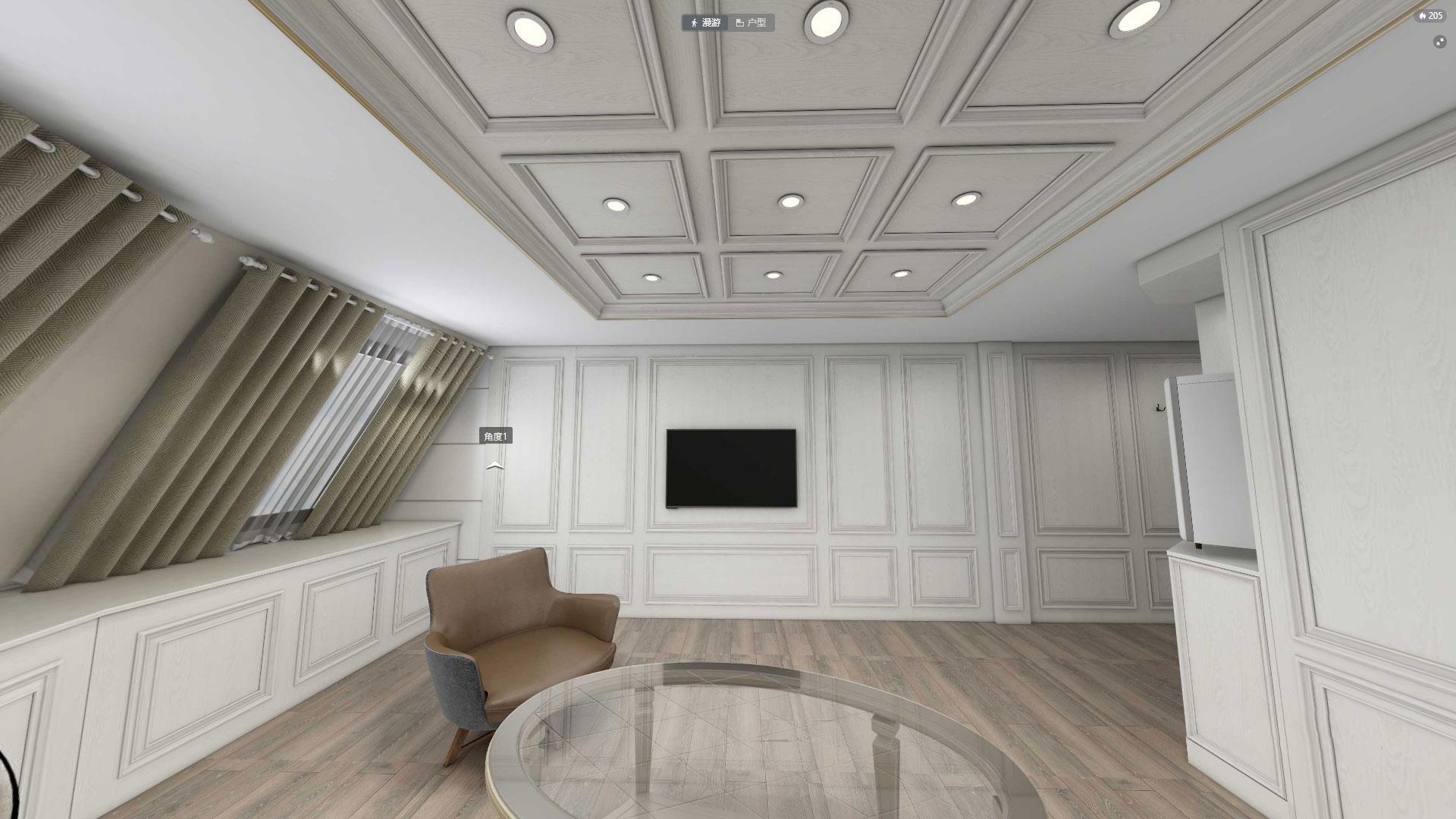 American white oak style case